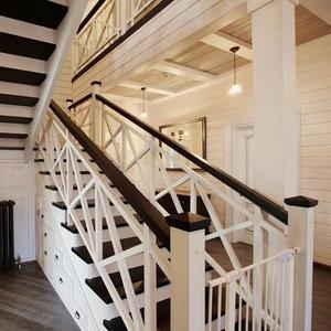 Производство и продажа деревянных маршевых лестниц