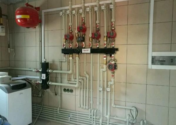 Монтаж отопления,  водоснабжение и канализация 5